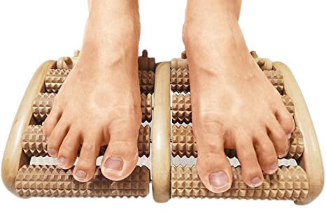 TheraFlow Dual Foot Massager Roller (Large).