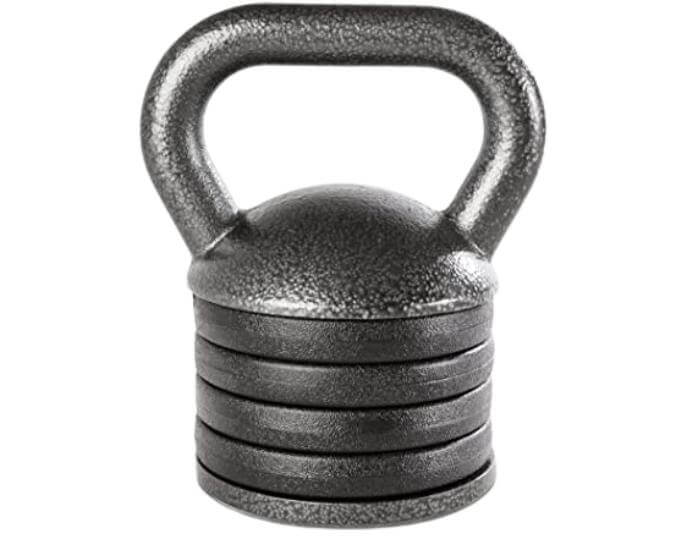Apex Adjustable Heavy-Duty APKB-5009 Exercise Kettlebell Weight Set Strength Training