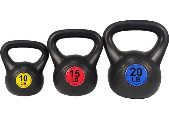 BalanceFrom Wide Grip Kettlebell Fitness Exercise Weight Set